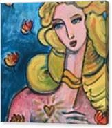 Heart Of Venus Canvas Print