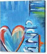 Heartache Canvas Print
