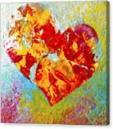 Heartfelt I Canvas Print
