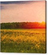 Heartland Glow Canvas Print
