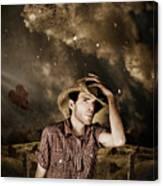 Heartland Of Outback Country Australia Canvas Print