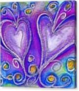 Hearts 1 Canvas Print
