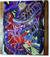 Hearts Drum 2 Canvas Print