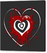 Hearts Graphic 1 Canvas Print