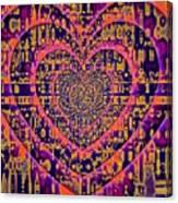 Hearts International Canvas Print