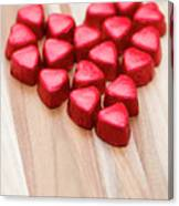 Hearty Heart Canvas Print