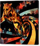 Heat Beast Canvas Print