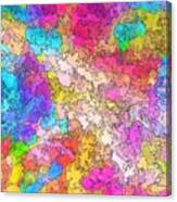 Heat Map Canvas Print