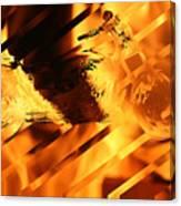 Heated Harley Canvas Print