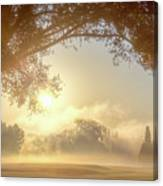 Heavenly Arch Sunrise Canvas Print