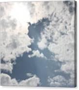 Heavenly Beam Canvas Print