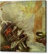 Heavenly Finale Canvas Print