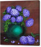 Heavenly Hydrangeas Canvas Print