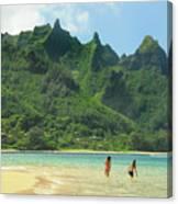 Heavenly Kauai Lagoon Canvas Print