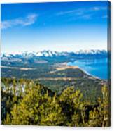 Heavenly South Lake Tahoe View 1 - Left Panel Canvas Print