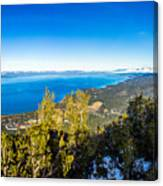 Heavenly South Lake Tahoe View 1 - Right Panel Canvas Print