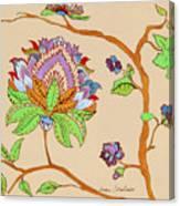 Heavens Flower Canvas Print