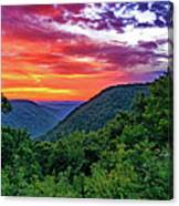 Heaven's Gate - West Virginia - Paint Canvas Print