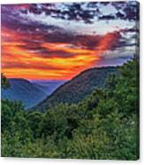Heaven's Gate - West Virginia Canvas Print