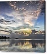 Heaven's Light - Coyaba, Ironshore Canvas Print