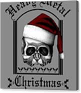 Heavy Metal Christmas Canvas Print