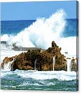 Heavy Seas Canvas Print