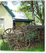 Heavy Wagon Load Canvas Print