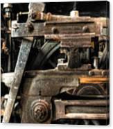 Heavy Wheel Canvas Print