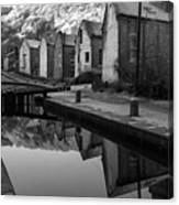 Rochdale Canal, Yorkshire, England Canvas Print