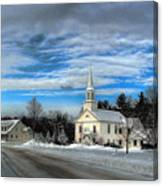 New Snow On Hebron Common Canvas Print