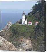 Heceta Head Lighthouse Li 9000 Canvas Print
