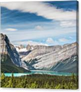 Hector Lake, Canadian Rockies Canvas Print