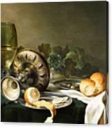 Heda - Still-life Canvas Print
