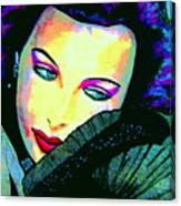 Hedy Lamarr Canvas Print