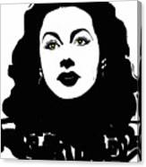 Hedy - Touching The Sublime Canvas Print