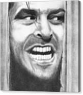 Heeeres Johnny Canvas Print