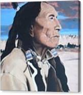 Hehaka Sapa Black Elk Canvas Print