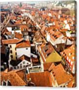 Heidelberg Cityscape Canvas Print
