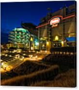 Heinz Field At Night Canvas Print