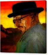 Heisenberg Crystallized Canvas Print
