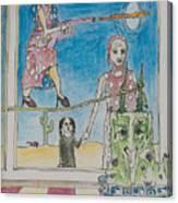 Heist Canvas Print
