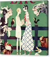 Held: Magazine Cover, 1926 Canvas Print