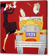 Held: Sheik & Sheba, 1925 Canvas Print