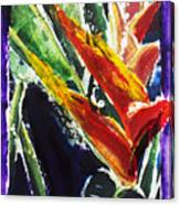Heleconia Canvas Print