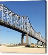 Helena Arkansas Bridge 2 Canvas Print