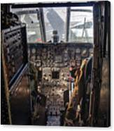 Helicopter Cockpit Canvas Print