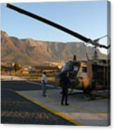 Helicopter Tours Of Cape Town And Table Mountain Canvas Print