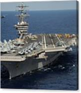 Helicopter's Approaches The Flight Deck Canvas Print