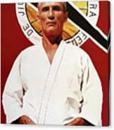 Helio Gracie - Famed Brazilian Jiu-jitsu Grandmaster Canvas Print