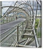 Helix Bridge Canvas Print